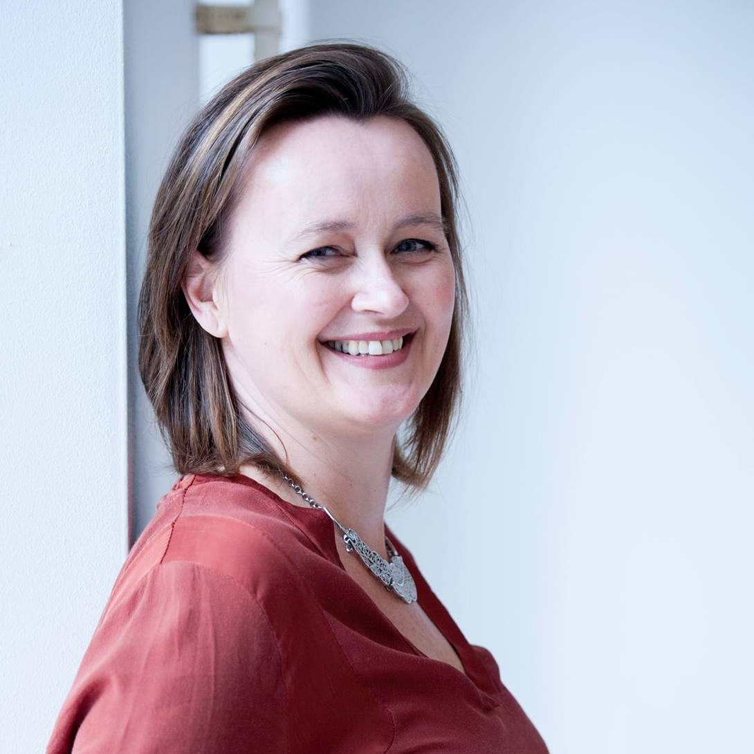 Saskia Bangma Voorzitter Stichting Vertellen